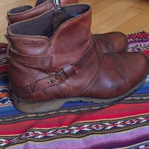 Teva women's De la Vina brown ankle boots sz 10
